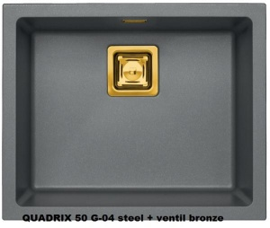 QUADRIX 50 G04 steel Monarch